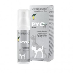 Dermoscent Pyo Clean Spray pour chien et chat