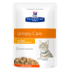 Hill's Prescription Diet Feline c/d Urinary Care Multicare Tender Chunks in Gravy - en sachets