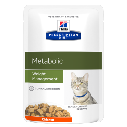 Hill's Prescription Diet Feline Metabolic Weight Management - Aliment humide en sachet