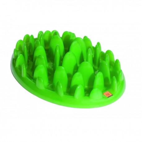 Green Slow Feeder pour chien