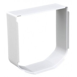 Chatière SureFlap avec lecteur de microchip, blanche