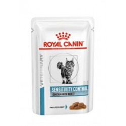 Royal Canin Veterinary Diet Sensitivity Control Cat - aliment humide en sachet