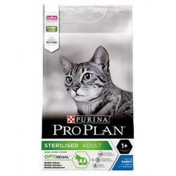 Purina ProPlan Sterilised Adult Cat rabbit OPTIRENAL