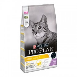 Purina ProPlan Light Adult Cat turkey OPTILIGHT