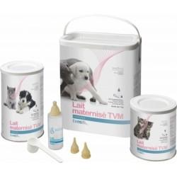 Lait maternisé TVM pour chat, chien et autres mammifères