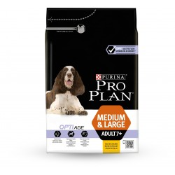 Pro Plan Dog Medium & Large Adult 7+ OPTI AGE Poulet