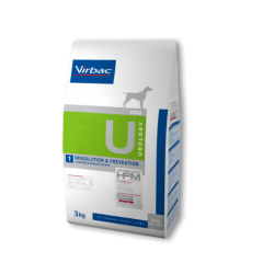 Virbac Veterinary HPM Dog Urology U1 Dissolution & Prevention