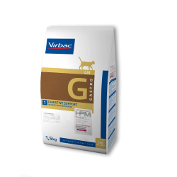 Virbac Veterinary HPM Cat Gastro G1 Digestive Support