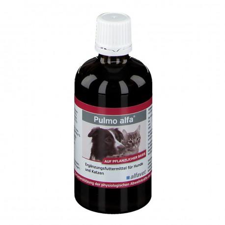 Pulmo alfa complément alimentaire pour chien et chat