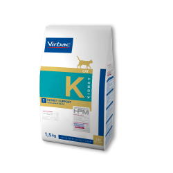Virbac Veterinary HPM Cat Kidney K1 Kidney Support