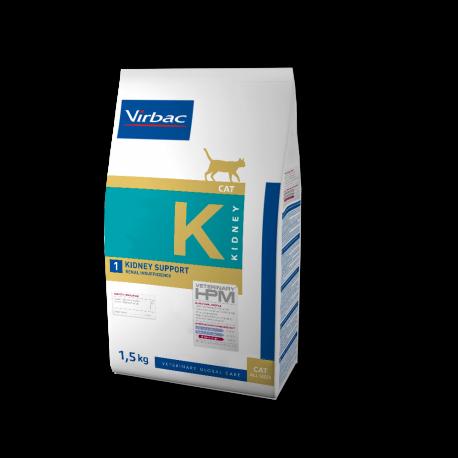 Virbac Veterinary HPM Cat Kidney K1 Kidney Support