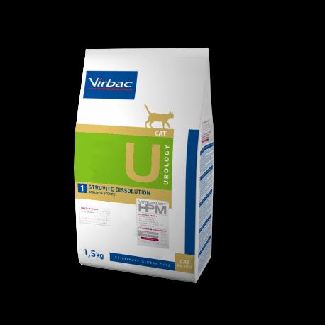 Virbac Veterinary HPM Cat Urology U1 Struvite Dissolution