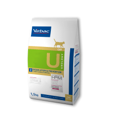 Virbac Veterinary HPM Cat Urology U2 Dissolution&Prevention