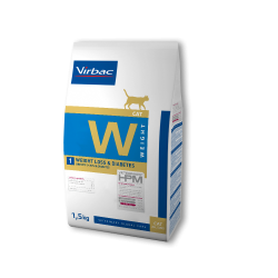 Virbac Veterinary HPM Cat Weight W1 Loss&Diabetes