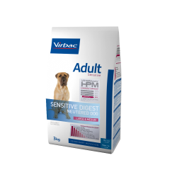 Virbac Veterinary HPM Adult Sensitive Dog Neutered Large & Medium