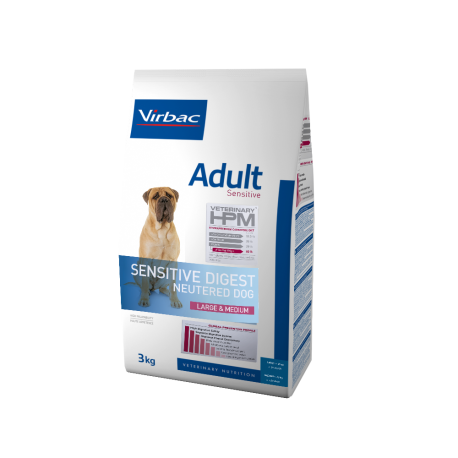 Virbac Veterinary HPM Adult Sensitive Dog Neutered Large & Medium