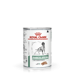 Royal Canin Veterinary Diet Diabetic Special Low CarbohydrateDog - aliment humide en boîte