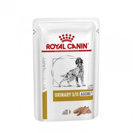 Royal Canin Veterinary Diet Urinary S/O ageing 7+ dog - Aliment humide en sachets