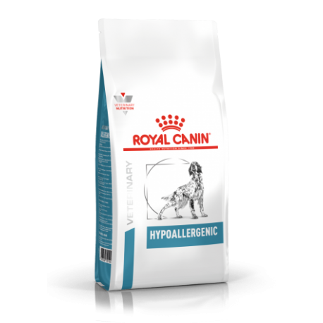 Royal Canin Veterinary Diet Hypoallergenic chien