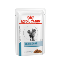 Royal Canin Vet Care Nutrition Cat Skin & Coat - aliment humide en sachet pour chat