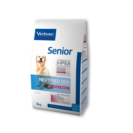 Virbac Veterinary HPM Senior Dog Neutered Large & Medium