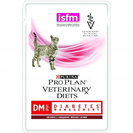 Purina Veterinary Diets FELINE DM St/Ox - sachets