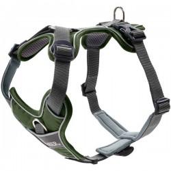 Hunter Aalborg Special collier en cuir pour chien, vert olive