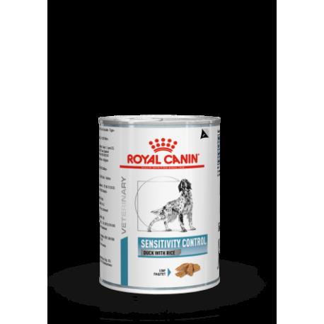 PROMO Royal Canin Veterinary Diet Sensitivity Control chien - aliment humide en boîte