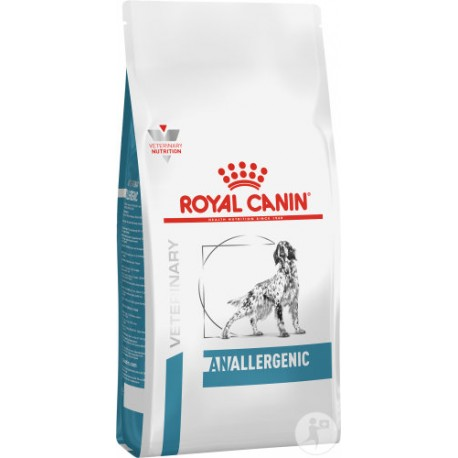 PROMO Royal Canin Veterinary Diet Anallergenic chien