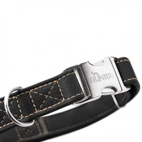 Hunter Cannes collier en cuir pour chien, rouge