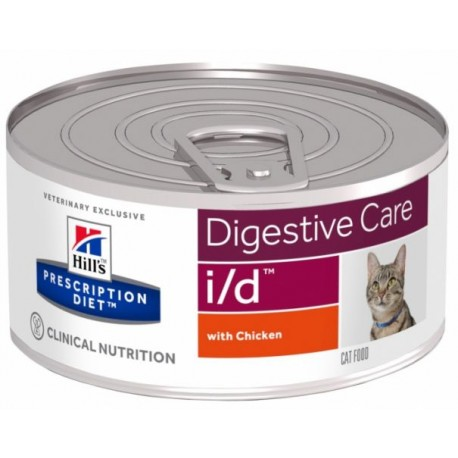 Hill's Prescription Diet Feline i/d Digestive Care - Aliment humide en boîtes