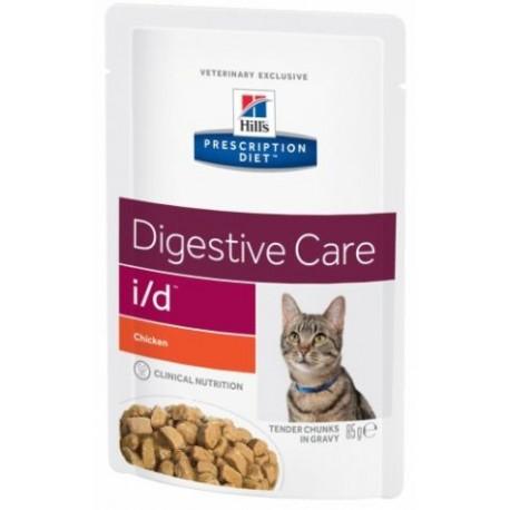 PROMO Hill's Prescription Diet Feline i/d Digestive Care - Aliment humide en sachets