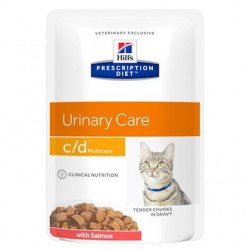 PROMO Hill's Prescription Diet Feline c/d Urinary Multicare - Aliment humide en sachet, au poulet
