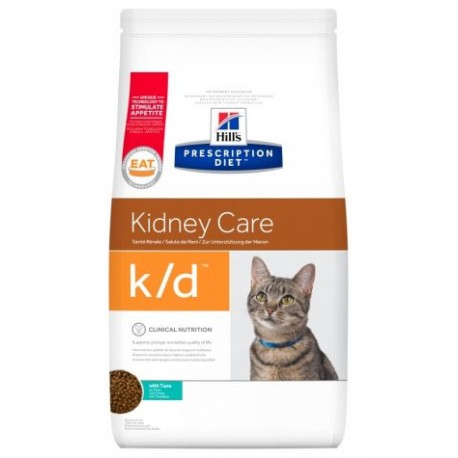 PROMO Hill's Prescription Diet Feline k/d Kidney Care