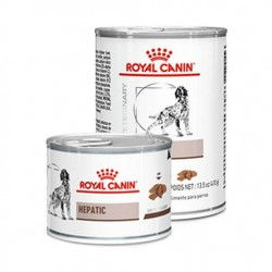 Royal Canin Veterinary Diet Hepatic Dog - aliment humide en boîte
