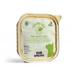 SPECIFIC Cat F-BIO-W organic au poisson - aliment humide en barquette