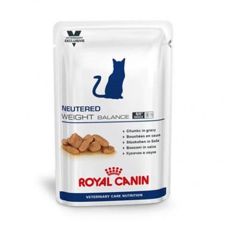 PROMO Royal Canin Vet Care Nutrition Neutered Weight Balance - aliment humide en sachet pour chat