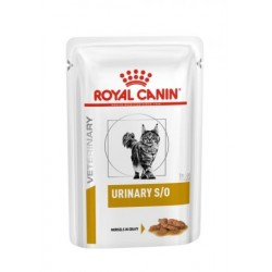 PROMO Royal Canin Veterinary Diet Urinary S/O chat - Aliment humide en sachets