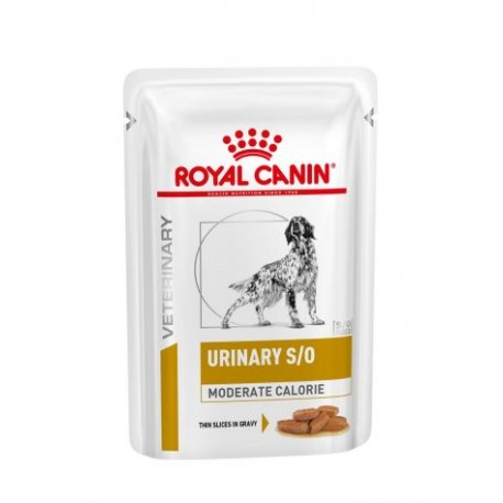 PROMO Royal Canin Veterinary Diet Urinary S/O moderate calories chien - Aliment humide en sachets