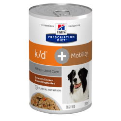 Hill's Prescription Diet Canine k/d Kidney Care stew with chicken - aliment humide mijoté