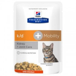 PROMO Hill's Prescription Diet Feline k/d + Mobility Tender Chunks in Gravy - aliment humide en sachets