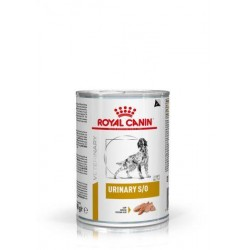 PROMO Royal Canin Veterinary Diet Urinary S/O Dog - aliment humide en boîte