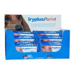 Iryplus Pocket Wipes lingettes pour les yeux des chats, des chiens et des NACss