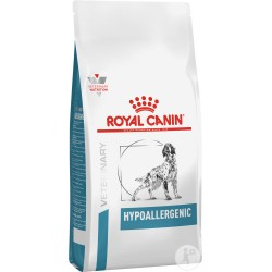PROMO Royal Canin Veterinary Diet Hypoallergenic chien