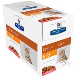 PROMO Hill's Prescription Diet Feline k/d Tender Chunks in Gravy - aliment humide en sachets
