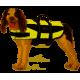 Gilet de flottaison / gilet de sauvetage Trixie pour chien