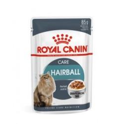 Royal Canin Care Nutrition Hairball Care aliment pour chat en sauce - aliment humide en sachet