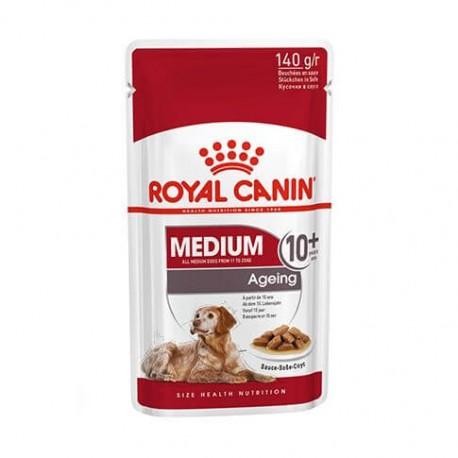 Royal Canin Health Nutrition Medium Ageing 10+ - aliment humide en sachet