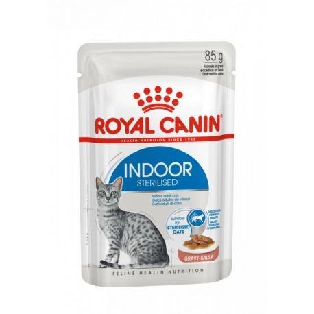 Royal Canin Health Nutrition Indoor sterilised cat - aliment humide en sachet
