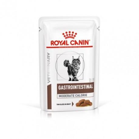 Royal Canin Veterinary Diet Gastro Intestinal Moderate Calorie Cat - sachet
